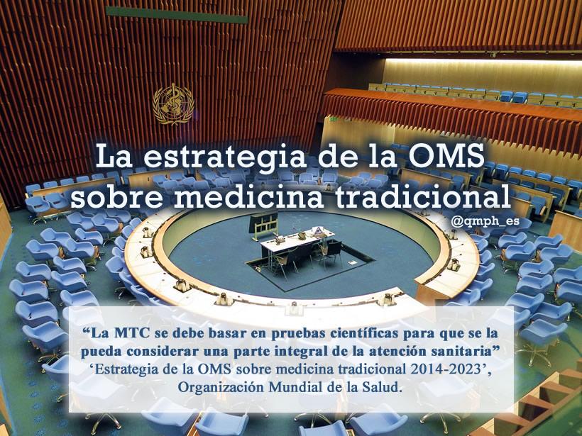 Resultado de imagen de estrategia OMS medicina tradicional